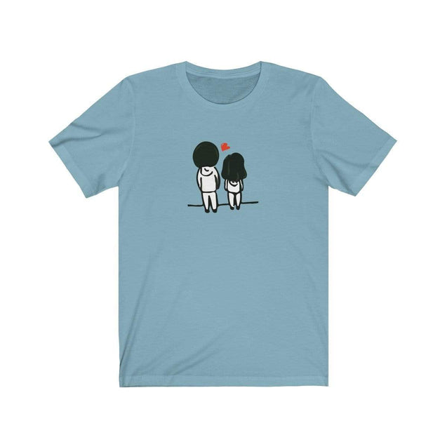 Love you back T-Shirt Baby Blue / S  - VPI Shop
