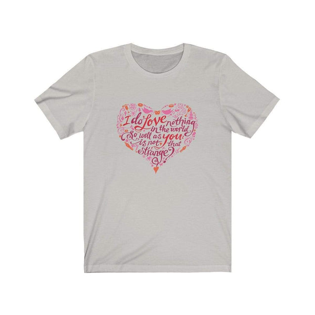 Love You T-Shirt Silver / S  - VPI Shop