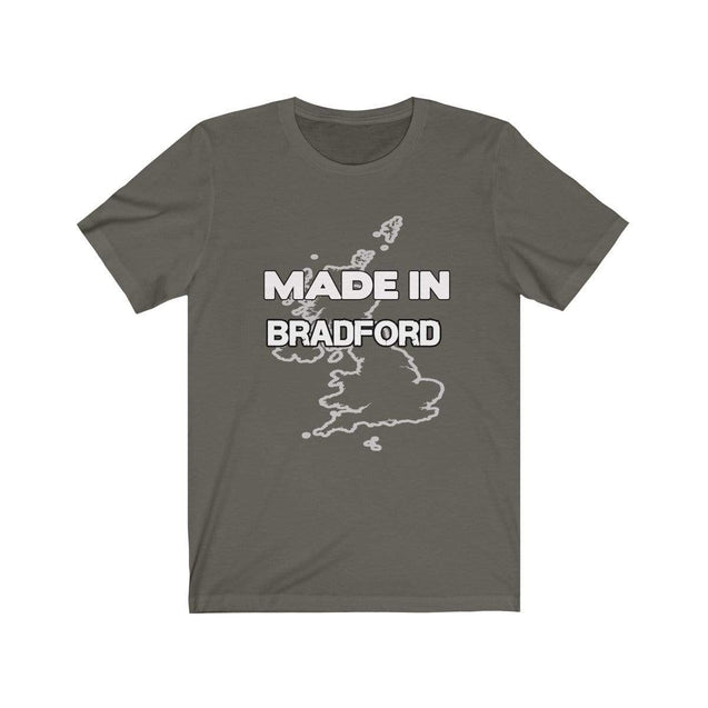 Made in Bradford Unisex T-Shirt Army / S  - VPI Shop
