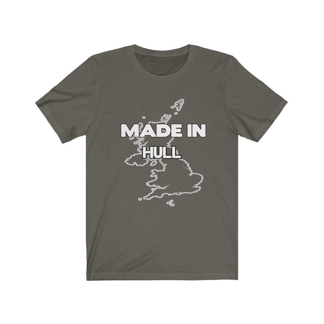 Made in Hull Unisex T-Shirt Army / S  - VPI Shop
