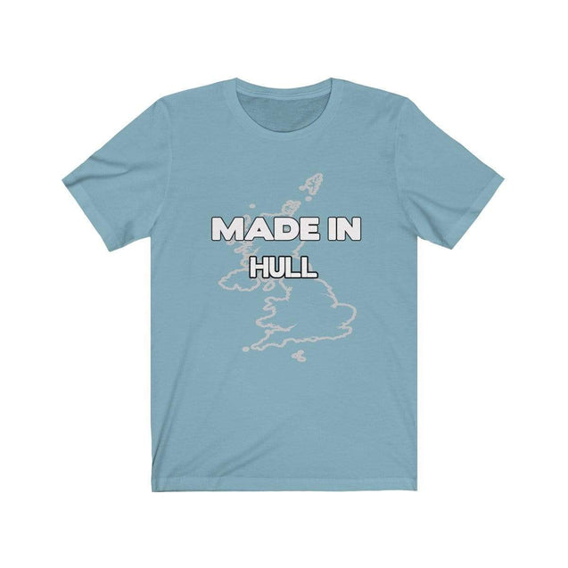 Made in Hull Unisex T-Shirt Baby Blue / L  - VPI Shop