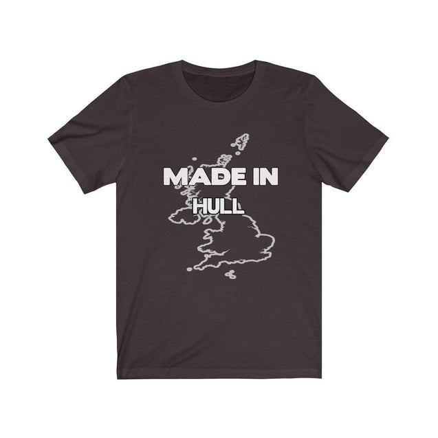 Made in Hull Unisex T-Shirt Chocolate/Brown / S  - VPI Shop
