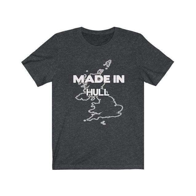Made in Hull Unisex T-Shirt Dark Grey Heather / S  - VPI Shop