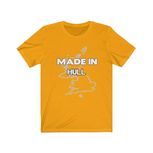 Made in Hull Unisex T-Shirt Gold / S  - VPI Shop