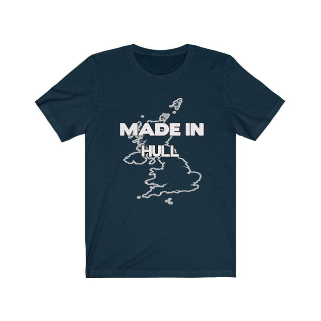 Made in Hull Unisex T-Shirt Navy / S  - VPI Shop