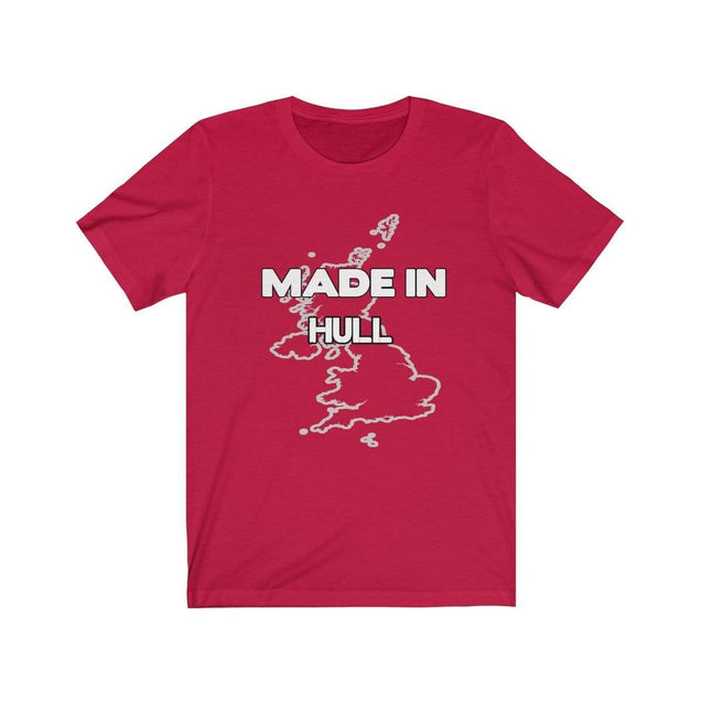 Made in Hull Unisex T-Shirt Red / S  - VPI Shop