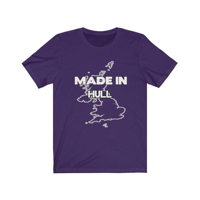 Made in Hull Unisex T-Shirt Team Purple / S  - VPI Shop