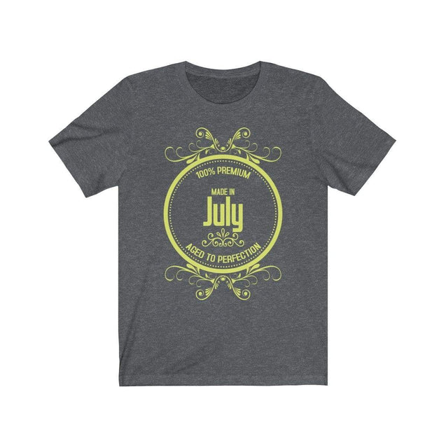 Made in July T-Shirt Dark Grey Heather / S  - VPI Shop