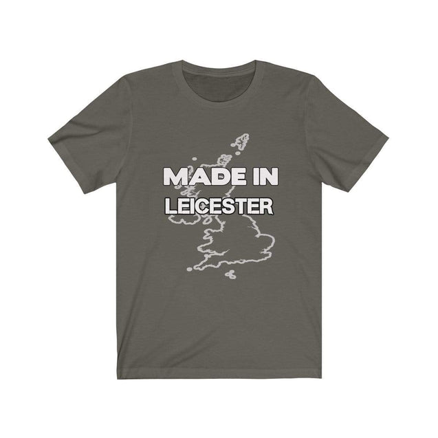Made in Leicester Unisex T-Shirt Army / S  - VPI Shop