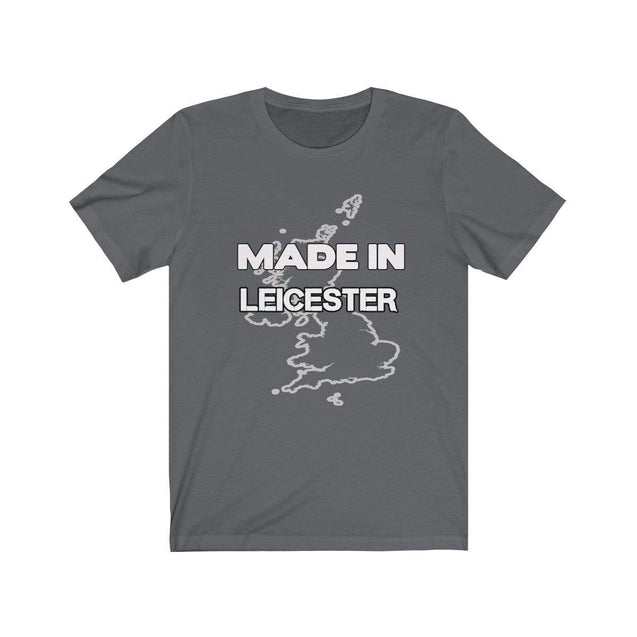 Made in Leicester Unisex T-Shirt Asphalt / L  - VPI Shop