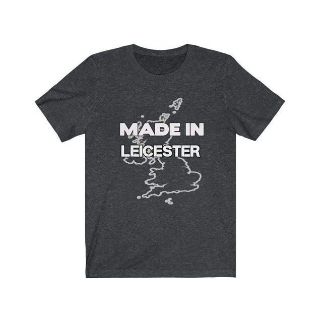 Made in Leicester Unisex T-Shirt Dark Grey Heather / S  - VPI Shop
