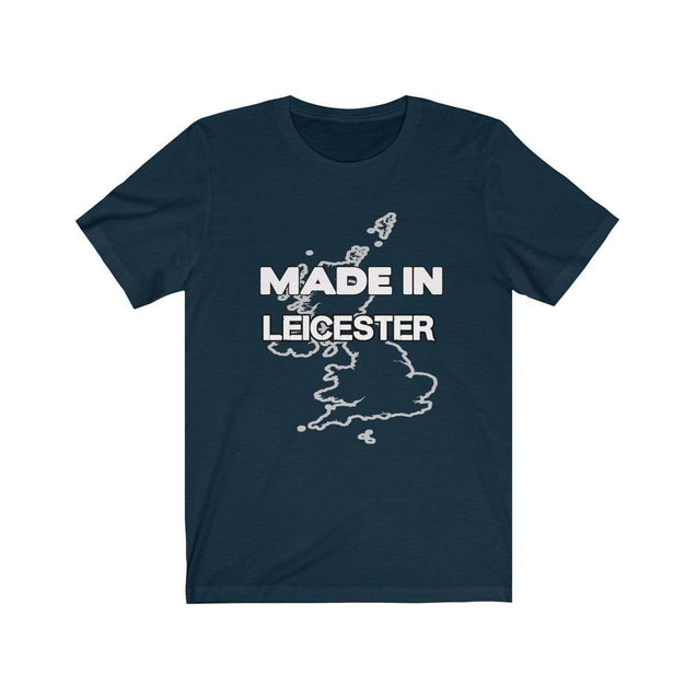 Made in Leicester Unisex T-Shirt Navy / S  - VPI Shop