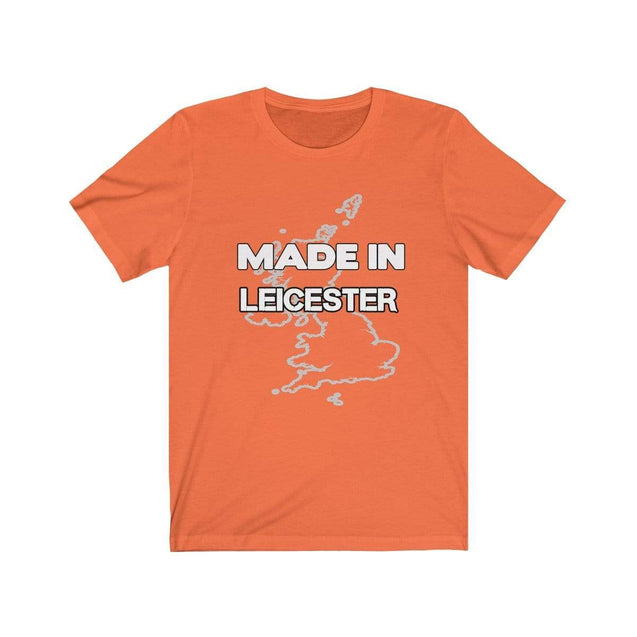 Made in Leicester Unisex T-Shirt Orange / S  - VPI Shop