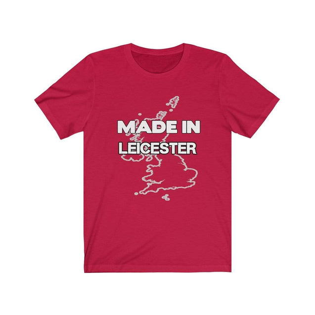 Made in Leicester Unisex T-Shirt Red / S  - VPI Shop