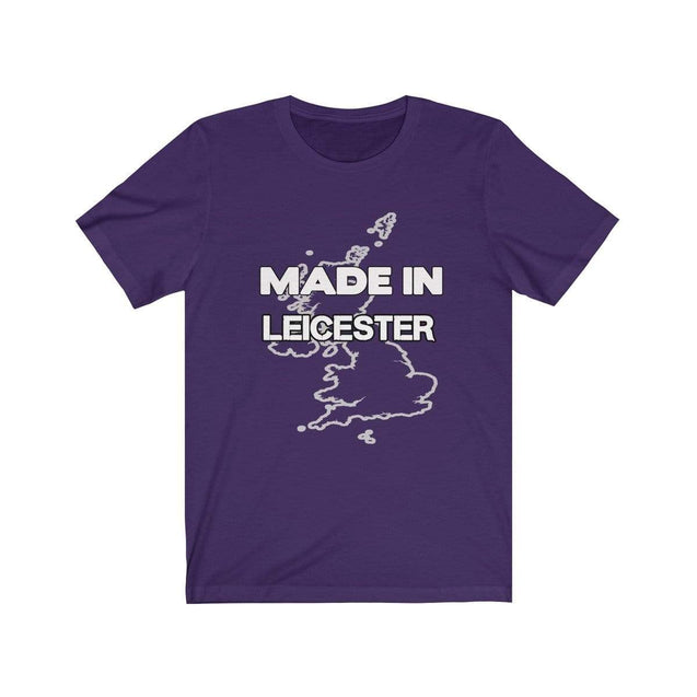 Made in Leicester Unisex T-Shirt Team Purple / S  - VPI Shop