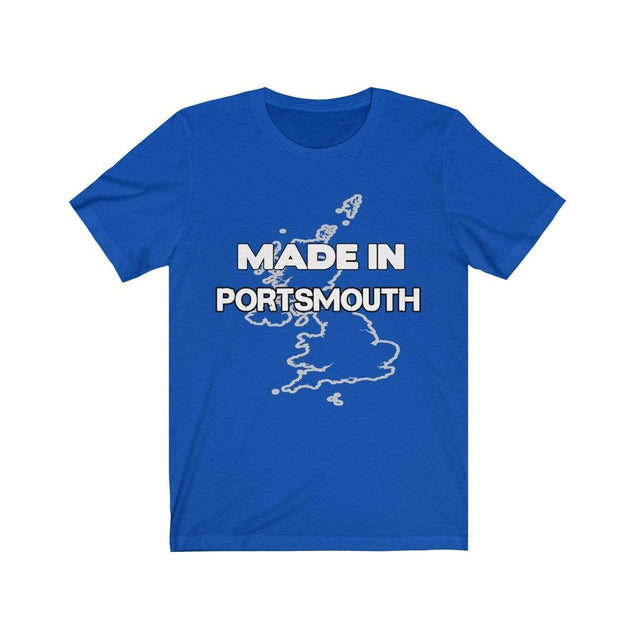 Made in Portsmouth Unisex T-Shirt True Royal / S  - VPI Shop