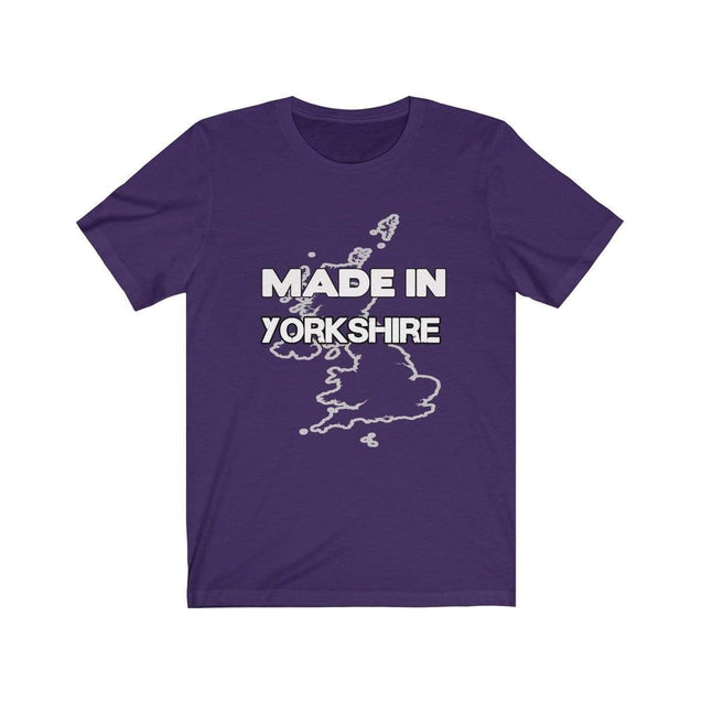 Made in Yorkshire Unisex T-Shirt Team Purple / S  - VPI Shop