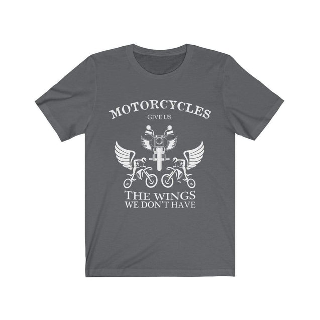 Motorcycles give us wings T-Shirt Asphalt / S  - VPI Shop