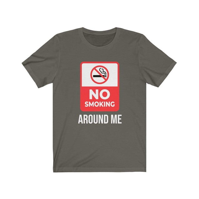 No smoking T-Shirt Army / S  - VPI Shop