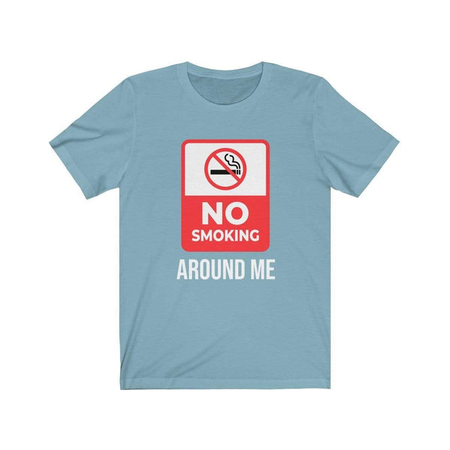 No smoking T-Shirt Baby Blue / S  - VPI Shop