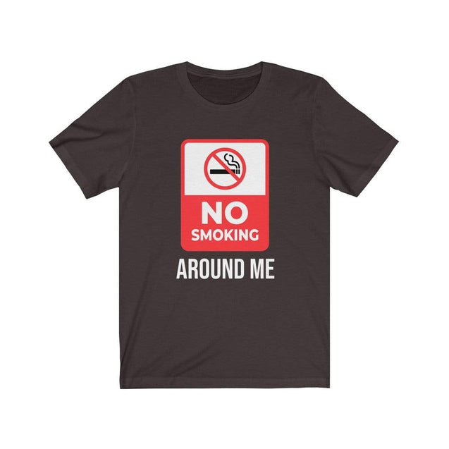 No smoking T-Shirt Chocolate/Brown / S  - VPI Shop