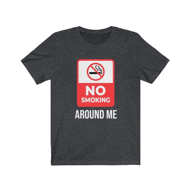 No smoking T-Shirt Dark Grey Heather / S  - VPI Shop