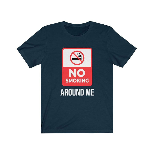 No smoking T-Shirt Navy / S  - VPI Shop