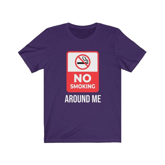 No smoking T-Shirt Team Purple / S  - VPI Shop
