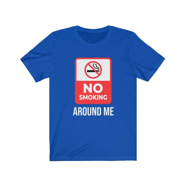 No smoking T-Shirt True Royal / S  - VPI Shop