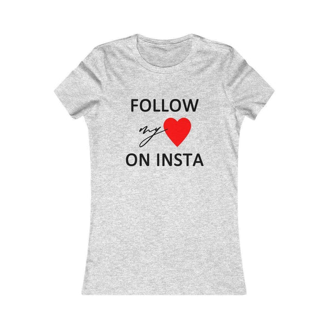 On Insta Women's T-Shirt Athletic Heather / S  - VPI Shop