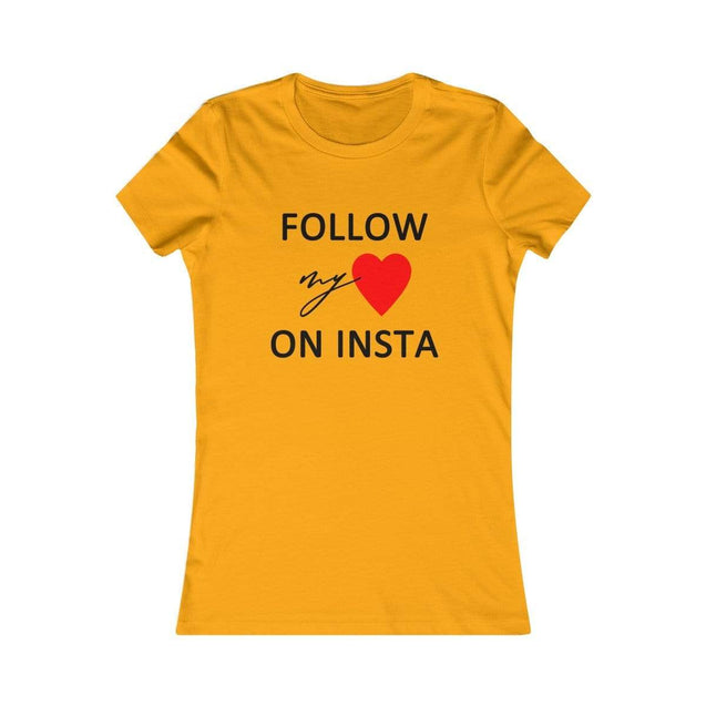 On Insta Women's T-Shirt Gold / S  - VPI Shop