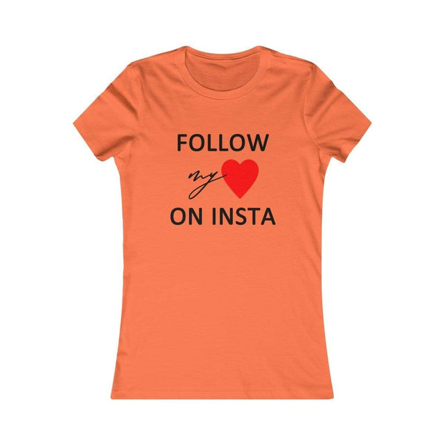 On Insta Women's T-Shirt Orange / S  - VPI Shop