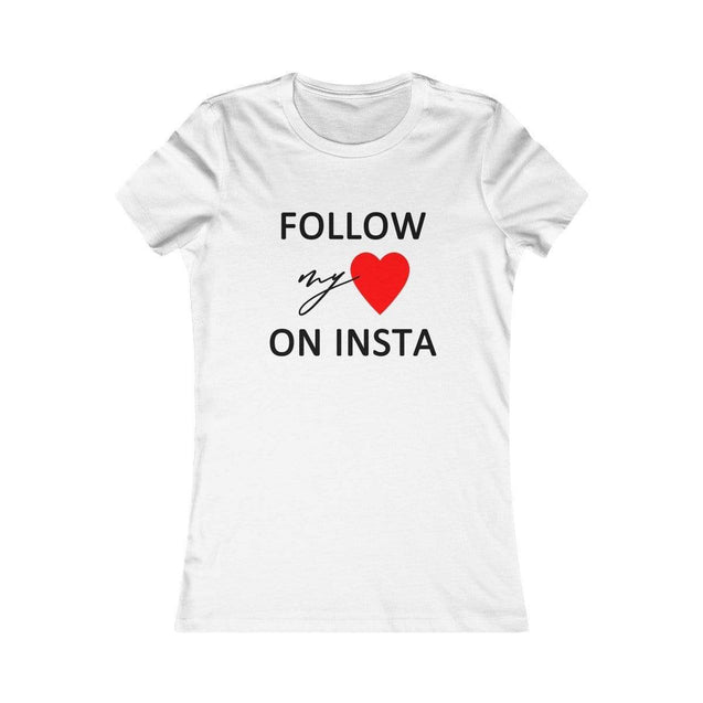 On Insta Women's T-Shirt White / L  - VPI Shop