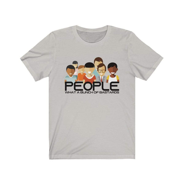 People in general T-Shirt Silver / S  - VPI Shop