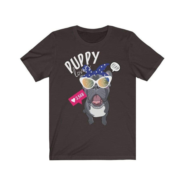 Puppy Love T-Shirt Chocolate/Brown / S  - VPI Shop