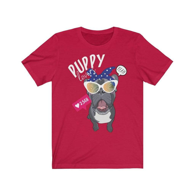 Puppy Love T-Shirt Red / S  - VPI Shop