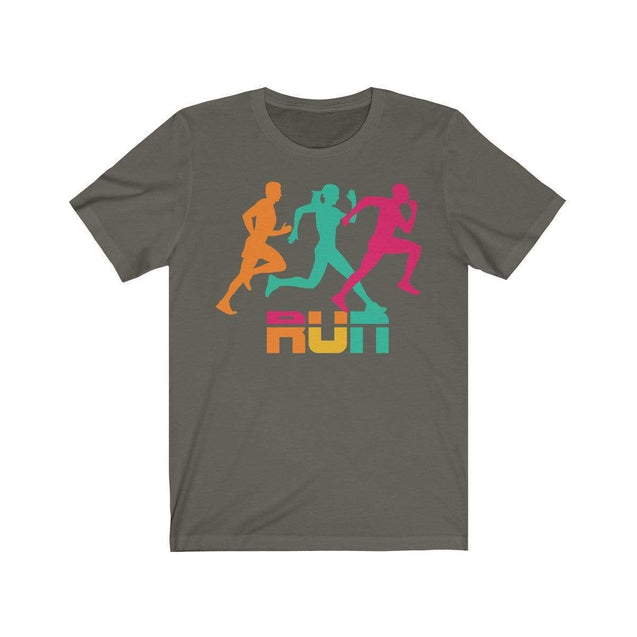 Run T-Shirt Army / S  - VPI Shop