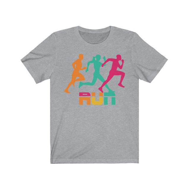 Run T-Shirt Athletic Heather / S  - VPI Shop