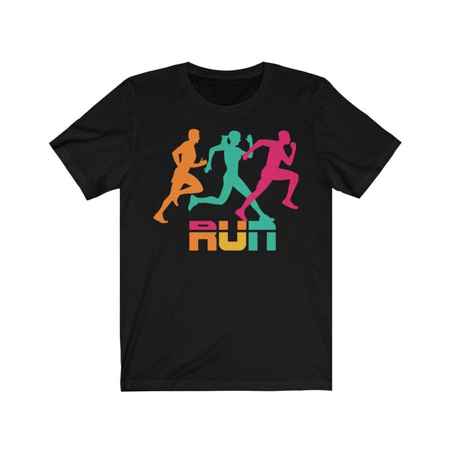 Run T-Shirt Black / L  - VPI Shop