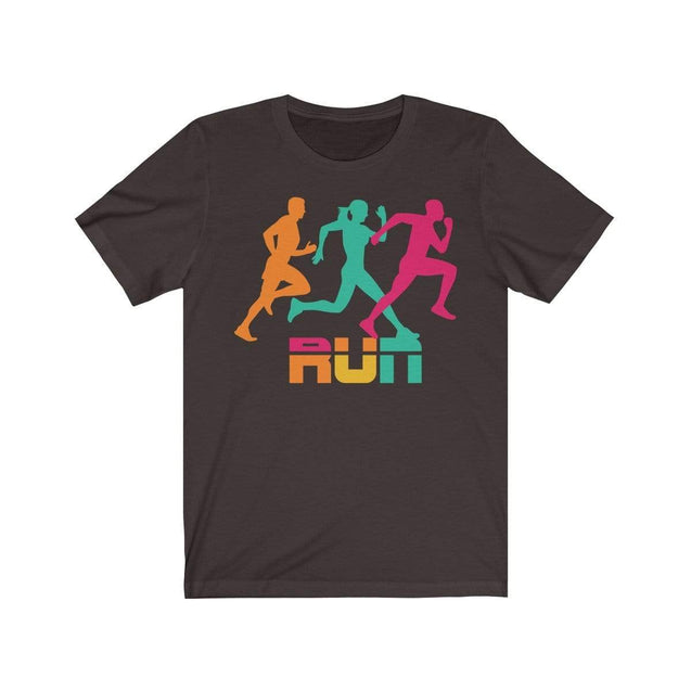 Run T-Shirt Chocolate/Brown / S  - VPI Shop
