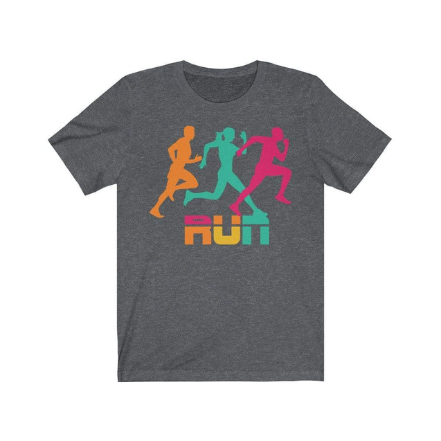Run T-Shirt Dark Grey Heather / S  - VPI Shop