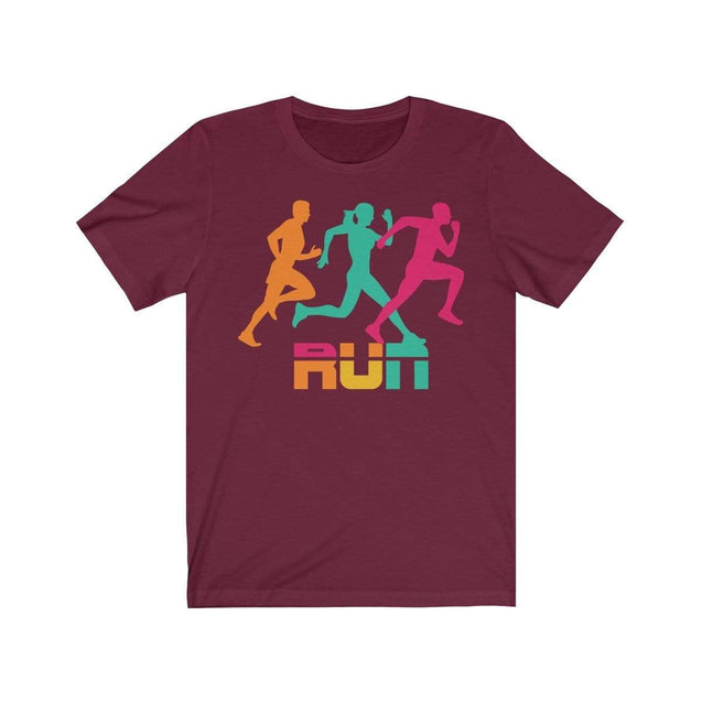 Run T-Shirt Maroon / S  - VPI Shop