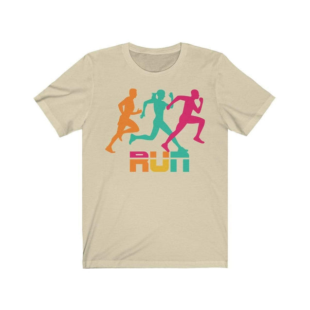 Run T-Shirt Natural / S  - VPI Shop