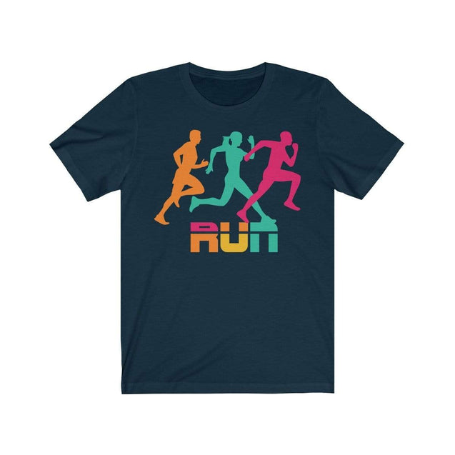 Run T-Shirt Navy / S  - VPI Shop