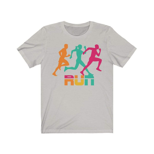 Run T-Shirt Silver / S  - VPI Shop