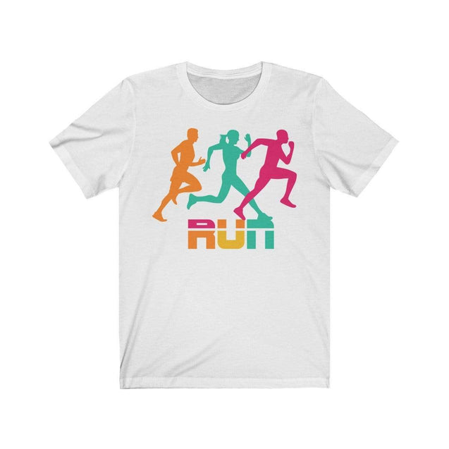 Run T-Shirt White / S  - VPI Shop