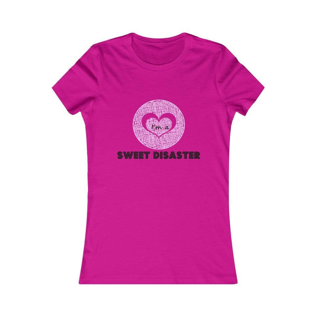 Sweet disaster Women's T-Shirt Berry / S  - VPI Shop