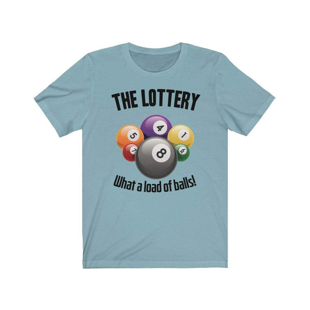 The Lottery T-Shirt Baby Blue / S  - VPI Shop