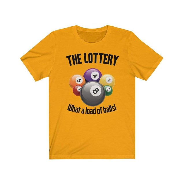 The Lottery T-Shirt Gold / S  - VPI Shop