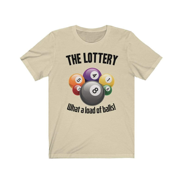 The Lottery T-Shirt Natural / S  - VPI Shop
